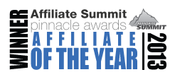 Affiliate Summit Pinnacle Award Affiliate of the Year