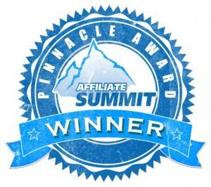 Affiliate Summit Pinnacle Awards - Winner Badge